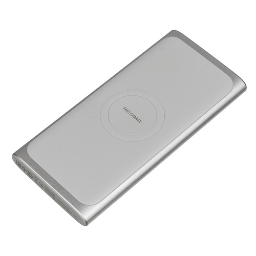 Внешний аккумулятор (Power Bank) SAMSUNG EB-U1200, 10000мAч, серебристый [eb-u1200csrgru]