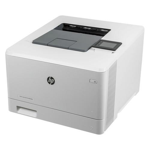 Фото - Принтер лазерный HP Color LaserJet Pro M454dw лазерный, цвет: белый [w1y45a] мфу лазерный hp color laserjet pro m479fnw a4 цветной лазерный белый [w1a78a]