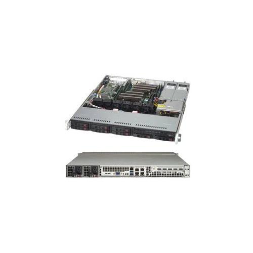 Корпус SuperMicro CSE-113MFAC2-R804CB 2x800W черный корпус supermicro cse 846be1c r1k23b 2x1200w черный