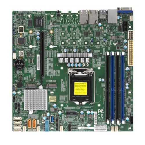 Серверная материнская плата SUPERMICRO MBD-X11SCM-F-O, Ret недорого