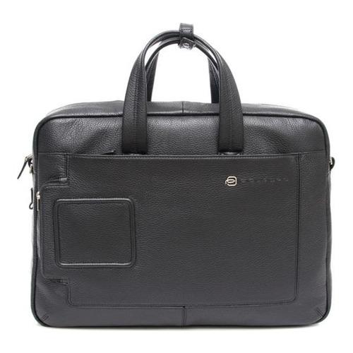 Портфель Piquadro Vibe OUTCA3147VI/N черный натур.кожа кожаный портфель piquadro pulse ca3111p15 ca3111p15 n