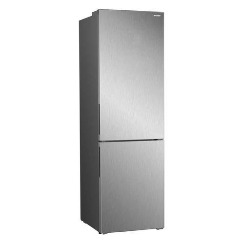 Холодильник SHARP SJ-B320EVIX, двухкамерный, нержавеющая сталь все цены