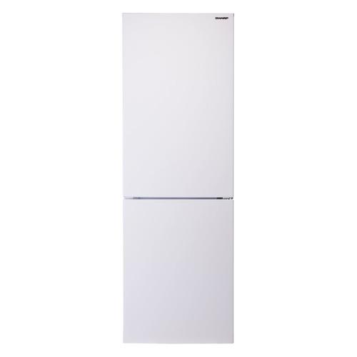 Холодильник SHARP SJ-B320EVWH, двухкамерный, белый