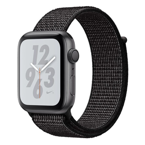 Смарт-часы APPLE Watch Series 4 Nike+, 44мм, темно-серый / черный [mu7j2/a] запчасти apple watch