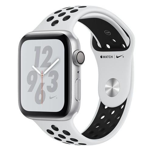 Смарт-часы APPLE Watch Series 4 Nike+, 44мм, серебристый / платиновый [mu6k2/a] запчасти apple watch