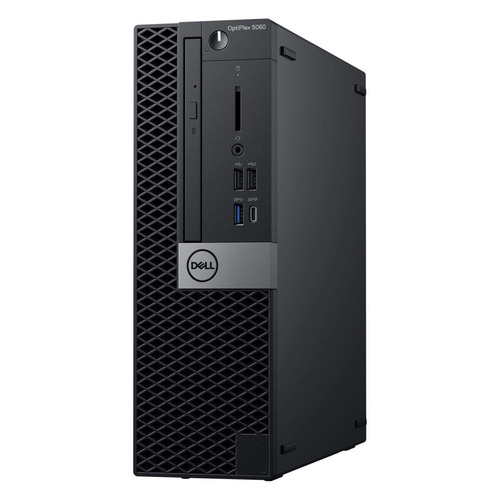 Компьютер DELL Optiplex 5060, Intel Core i5 8500, DDR4 8Гб, 256Гб(SSD), Intel UHD Graphics 630, DVD-RW, Windows 10 Professional, черный [5060-8126]