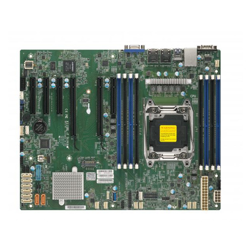 Серверная материнская плата SUPERMICRO MBD-X11SRL-F-O, Ret материнская плата supermicro mbd x11dpl i o