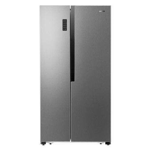 Холодильник GORENJE NRS9181MX, двухкамерный, нержавеющая сталь холодильник gorenje rk621syb4 черный двухкамерный