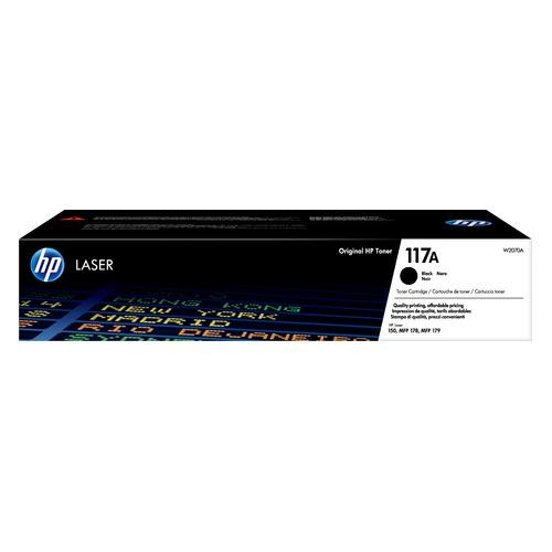 Картридж HP 117, черный / W2070A