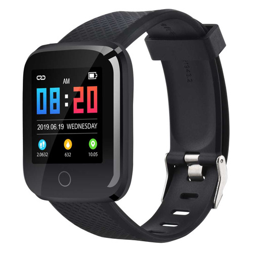 Смарт-часы DIGMA Smartline D2e, 1.3, черный / черный цена