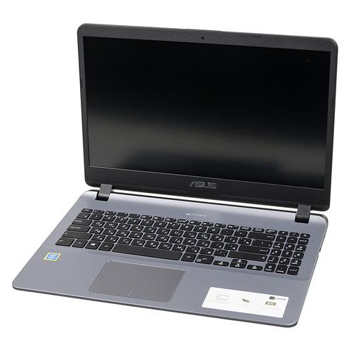 "Ноутбук ASUS VivoBook X507UA-EJ1148, 15.6"", Intel Pentium 4417U 2.3ГГц, 4Гб, 128Гб SSD, nVidia GeForce Mx110 - 2048 Мб, Windows 10, 90NB0HI1-M16790, серый ноутбук asus x507ua ej1148 pentium 4417u 2 3 4g 128g ssd 15 6"