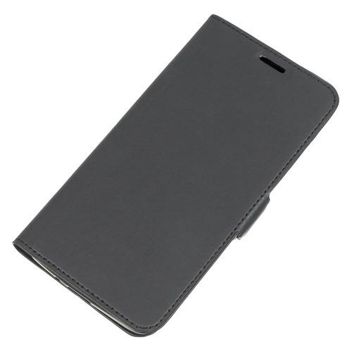 Чехол (флип-кейс) DF sFlip-11, для Samsung Galaxy J2 Prime/Grand Prime (2016), черный [df sflip-11 (black)] чехол силиконовый df scase 34 для samsung galaxy j2 prime grand prime 2016