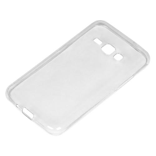Чехол (клип-кейс) DF sCase-16, для Samsung Galaxy J1 (2016), прозрачный чехол крышка skinbox slim silicone для samsung galaxy j1 2016 прозрачный