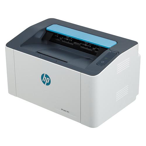 Принтер лазерный HP Laser 107r черно-белый, цвет: белый [5ue14a]