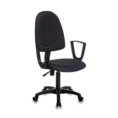 Кресло БЮРОКРАТ CH-1300N, на колесиках, ткань, черный [ch-1300n/black] офисное кресло бюрократ ch 1300n