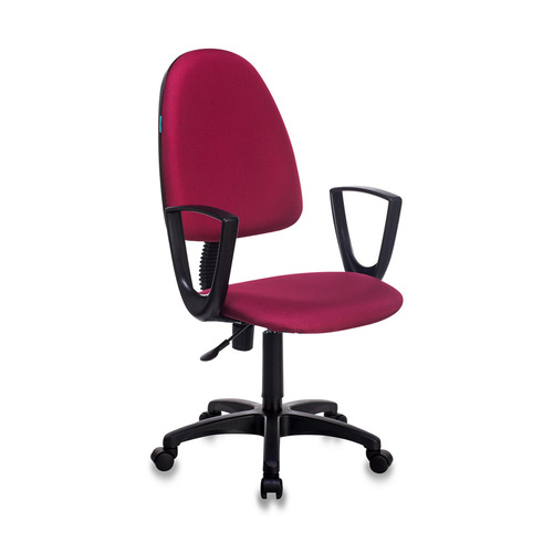 Кресло БЮРОКРАТ CH-1300N, на колесиках, ткань, бордовый [ch-1300n/cherry] офисное кресло бюрократ ch 1300n