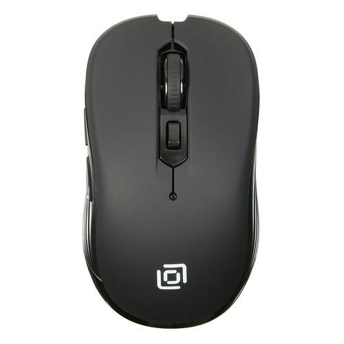лучшая цена Мышь OKLICK 610MWC, оптическая, беспроводная, USB, черный