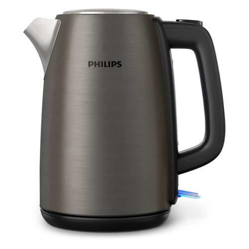 Чайник электрический PHILIPS HD9352/80, 2200Вт, серебристый philips чайник philips hd9323 80
