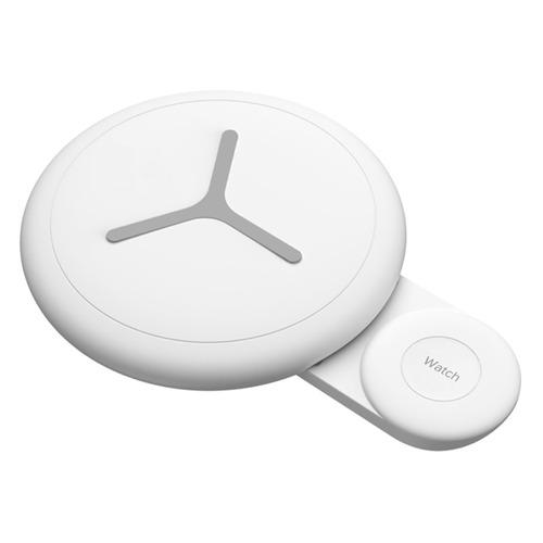 Фото - Беспроводное зарядное устройство Lyambda, USB, USB type-C, 2A, белый беспроводное зарядное устройство 3 в 1 для смартфона apple watch apple airpods devia 18w