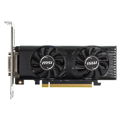 цена на Видеокарта MSI nVidia GeForce GTX 1650 , GTX 1650 4GT LP OC, 4Гб, GDDR5, Low Profile, OC, Ret