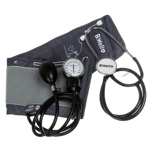 Тонометр механический B.WELL MED-62, (без адаптера питания), 22-42см