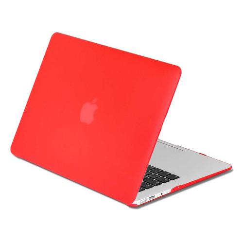 "Накладка 15.4 DF MacCase-04, красный, для MacBook Pro 15"" Touch bar (A1707/A1990) [df maccase-04 (red)] аксессуар чехол df для macbook pro 15 touch bar a1707 a1990 maccase 4 purple orange"