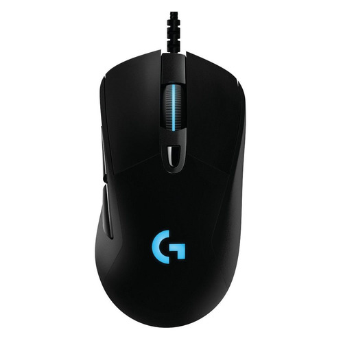 Фото - Мышь LOGITECH G403 HERO, игровая, оптическая, проводная, USB, черный [910-005632] мышь logitech g502 hero игровая оптическая проводная usb белый и черный [910 006097]