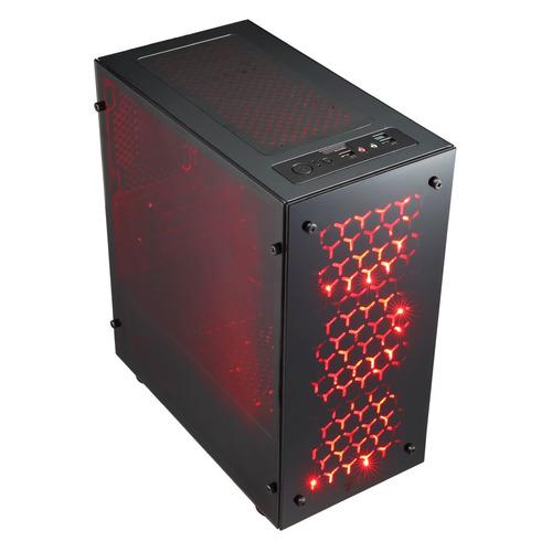 Компьютер IRU Home 223, AMD Ryzen 3 2200G, DDR4 8Гб, 480Гб(SSD), NVIDIA GeForce GTX1050Ti - 4096 Мб, Free DOS, черный [1159831]  - купить со скидкой