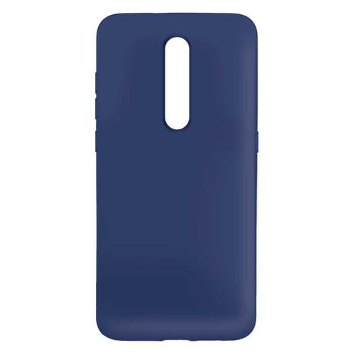 Чехол (клип-кейс) BORASCO Hard Case, для Xiaomi Mi 9T/Mi 9T Pro/Redmi K20/K20 Pro, синий [37269] защитный чехол с микрофиброй для mi 9 lite borasco soft touch синий
