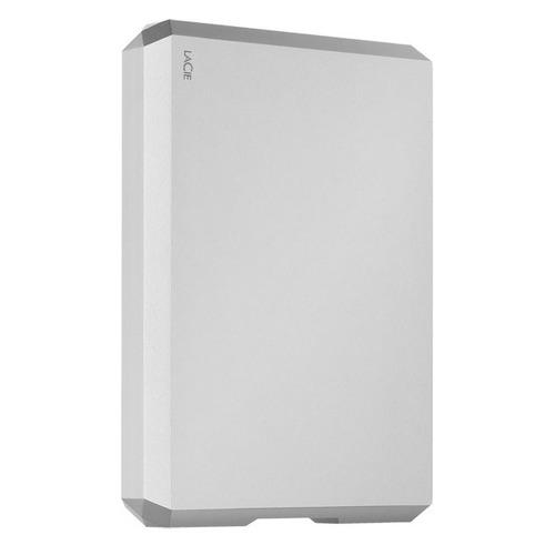 Фото - Внешний диск HDD LACIE Mobile Drive STHG5000400, 5ТБ, серебристый внешний диск hdd lacie mobile drive sthg4000400 4тб серебристый