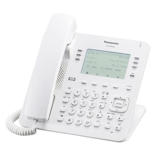 IP телефон PANASONIC KX-NT630RU телефон ip panasonic kx nt553ru белый