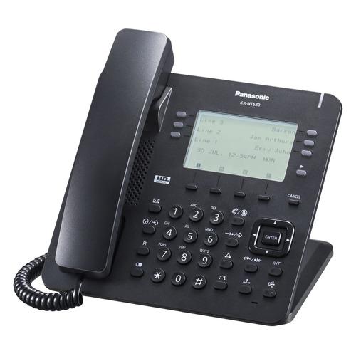 IP телефон PANASONIC KX-NT630RU-B недорого