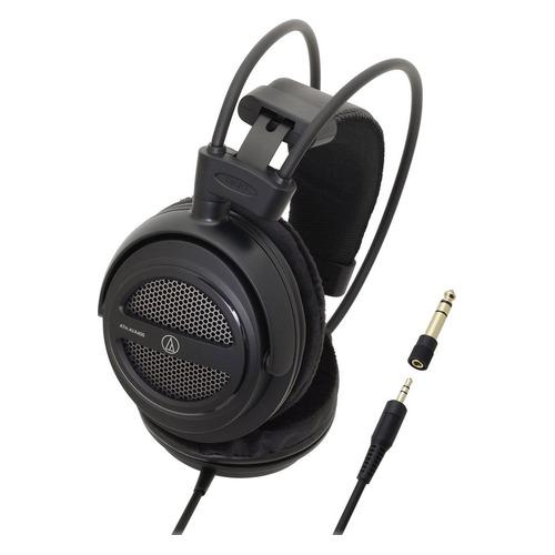 Наушники AUDIO-TECHNICA ATH-AVA400, 3.5 мм/6.3 мм, накладные, черный [15118255]