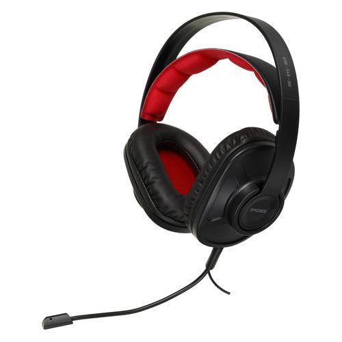 Гарнитура игровая Koss GMR-540-ISO, для компьютера, накладные, черный [15119850]