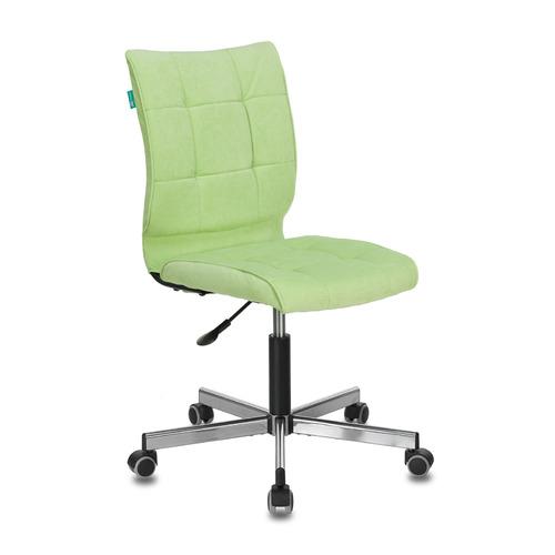 Кресло БЮРОКРАТ CH-330M, на колесиках, ткань, светло-салатовый [ch-330m/velv81] кресло офисное персона persona доступные цвета обивки искусств чёрная кожа