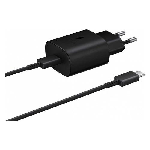 Сетевое зарядное устройство SAMSUNG EP-TA800XBEGRU, USB type-C, USB type-C, 3A, черный цена и фото