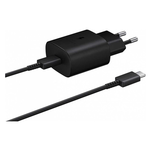 Фото - Сетевое зарядное устройство SAMSUNG EP-TA800XBEGRU, USB type-C, USB type-C, 3A, черный сетевое зарядное устройство samsung micro usb 2a black ep ta12ebeugru