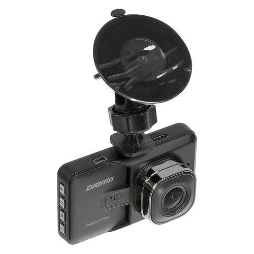 Видеорегистратор DIGMA FreeDrive 118 DUAL [fd118d] видеорегистратор digma freedrive 303 mirror dual 4 3 1920x1080 120° microsd microsdhc датчик движения usb черный