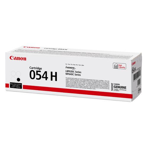 Картридж CANON 054 H BK, черный [3028c002]