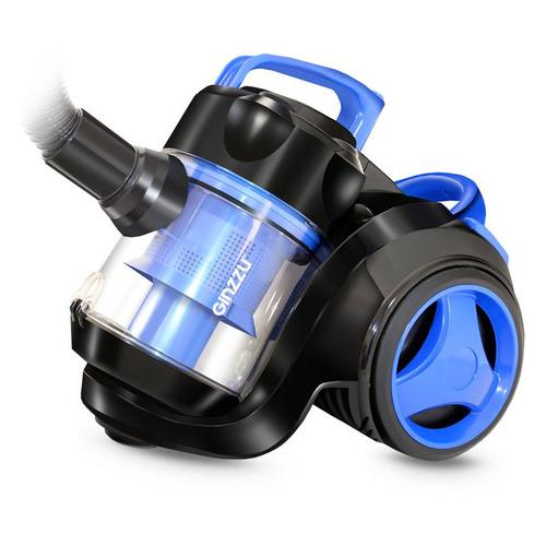 Фото - Пылесос GINZZU VS420, 1700Вт, черный/синий [00-00000840] пылесос ginzzu vs420 черный синий