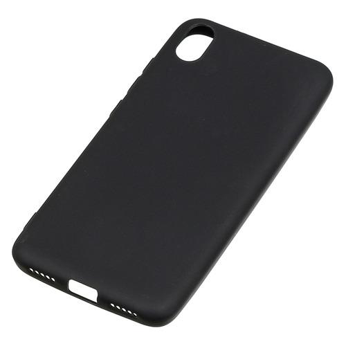 Чехол (клип-кейс) BORASCO для Xiaomi Redmi 7A, черный (матовый) [37323] силиконовый чехол borasco для xiaomi redmi 7a