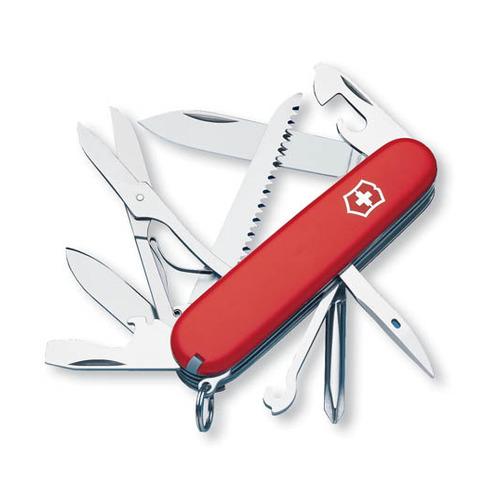 Складной нож VICTORINOX Fieldmaster, 15 функций, 91мм, красный victorinox w11 09black
