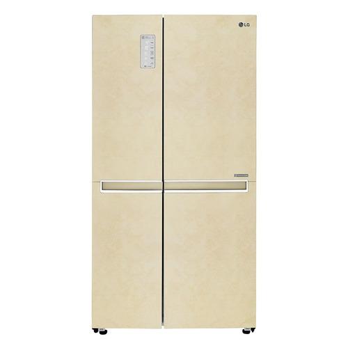 лучшая цена Холодильник LG GC-B247SEUV, двухкамерный, бежевый