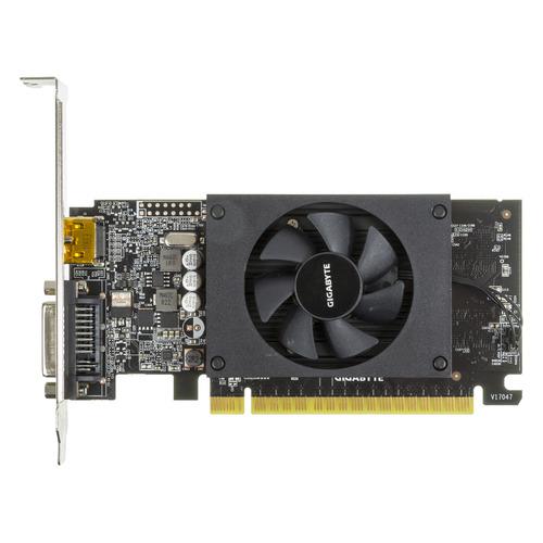 Видеокарта GIGABYTE nVidia GeForce GT 710 , GV-N710D5-1GL, 1ГБ, GDDR5, Low Profile, Ret