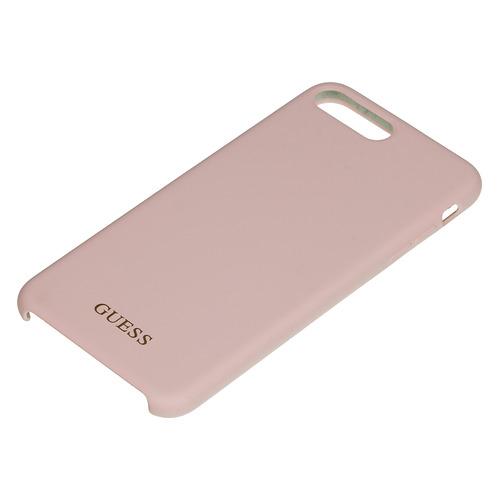Чехол (клип-кейс) Guess, для Apple iPhone 7 Plus/8 Plus, розовый [guhci8llsgllp] guess чехол крышка guess для apple iphone 7 8 алюминий серебряный hard case
