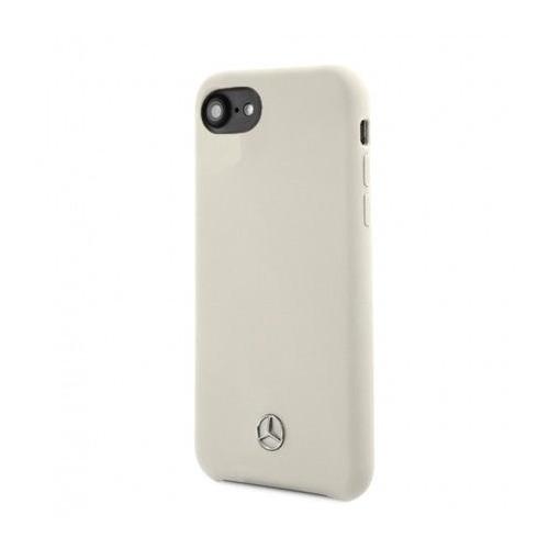 Чехол (клип-кейс) Mercedes Silicone Line, для Apple iPhone 7/8/SE 2020, бежевый [mehci8silbe] чехол клип кейс mercedes silicone line для apple iphone x xs темно синий [mehcpxsilna]