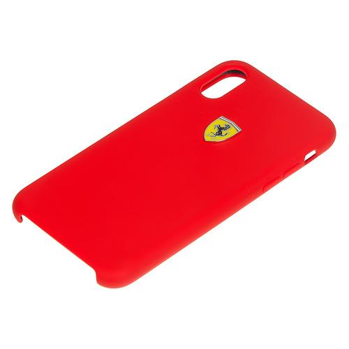 Чехол (клип-кейс) Ferrari, для Apple iPhone X/XS, красный [fessihcpxre] цена и фото