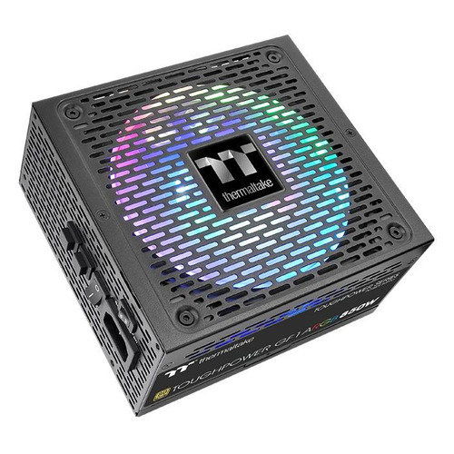 Блок питания THERMALTAKE Toughpower GF1 ARGB, 850Вт, 140мм, черный, retail [ps-tpd-0850f3fage-1]