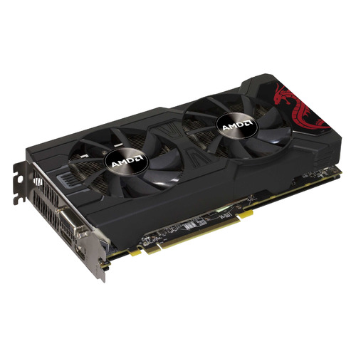 купить Видеокарта POWERCOLOR AMD Radeon RX 570 , AXRX 570 8GBD5-DHDM, 8Гб, GDDR5, white box онлайн