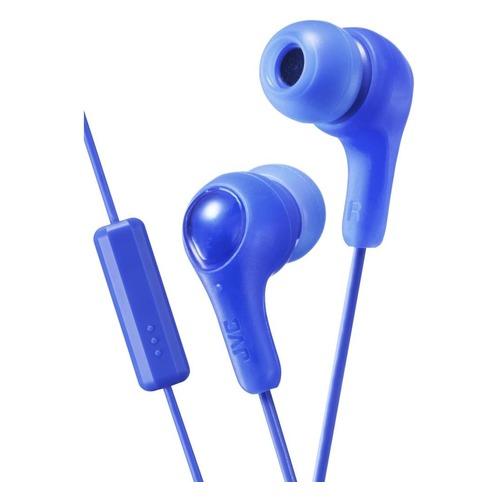 цена на Наушники с микрофоном JVC HA-FX7M, 3.5 мм, вкладыши, синий [ha-fx7m-a-e]